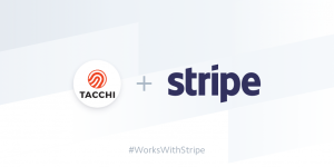 Tacchi is now a Stripe Verified Partner